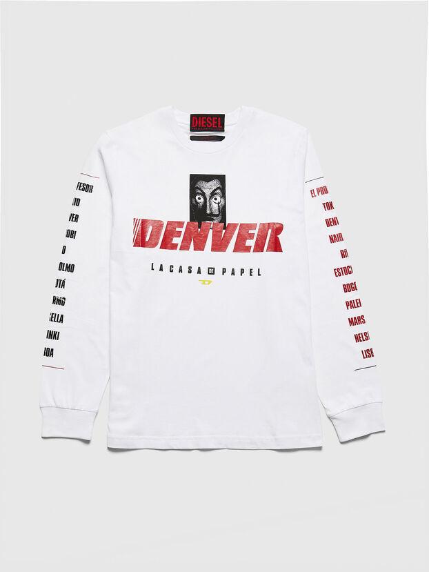 LCP-T-JUST-LS-DENVER, Blanco - Camisetas