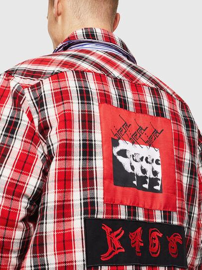 Diesel - S-JOHNS, Rojo/Negro - Camisas - Image 7