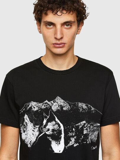 Diesel - T-DIEGOS-A7, Negro - Camisetas - Image 3