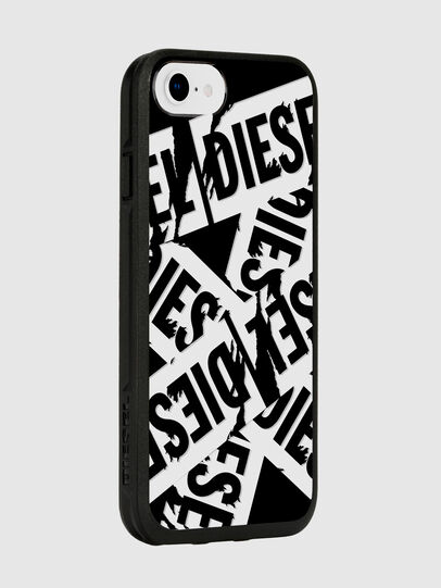 Diesel - MULTI TAPE BLACK/WHITE IPHONE 8/7/6S/6 CASE, Negro - Fundas - Image 6