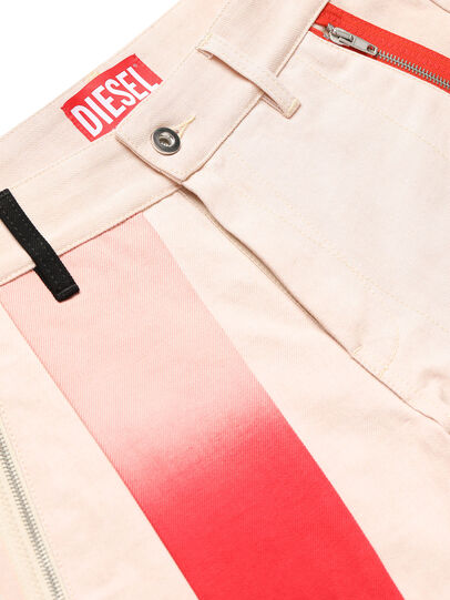 Diesel - GR02-P303-P, Blanco - Shorts - Image 3