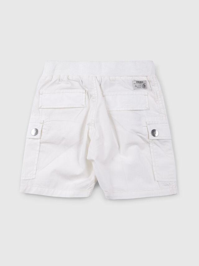 Diesel - PECCIB, Blanco - Shorts - Image 2