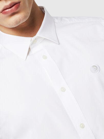 Diesel - S-BILL, Blanco - Camisas - Image 3