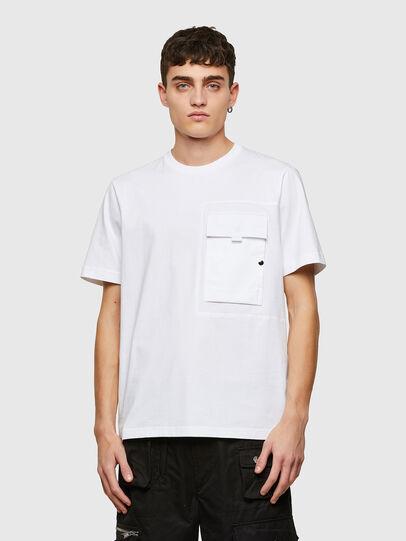Diesel - T-WORKAN, Blanco - Camisetas - Image 1