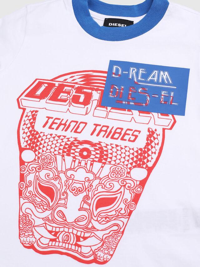 Diesel - TENNUB-R, Blanco/Rojo/Azul - Camisetas y Tops - Image 3