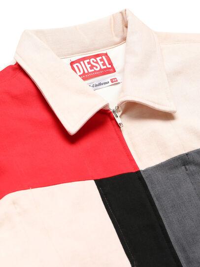 Diesel - GR02-J301-P, Blanco - Chaquetas de denim - Image 4