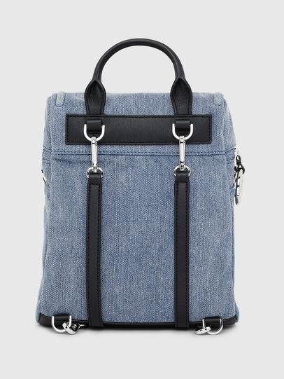 Diesel - ERACLEA II, Blue Jeans - Mochilas - Image 2