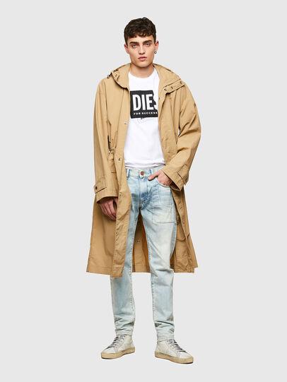 Diesel - T-DIEGOS-LAB, Blanco - Camisetas - Image 4