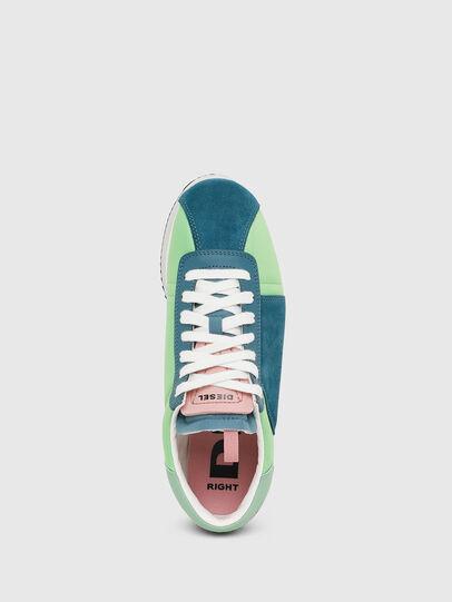 Diesel - S-PYAVE WEDGE, Verde/Azul - Sneakers - Image 5