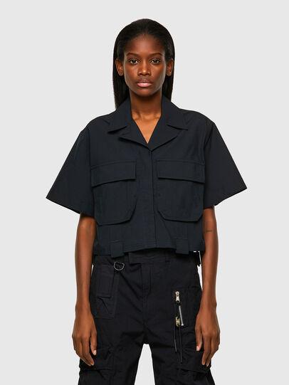 Diesel - C-ADARA-A, Negro - Camisas - Image 1