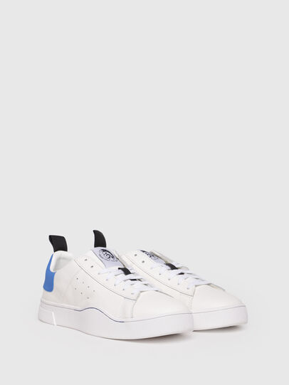 Diesel - S-CLEVER LOW, Blanco/Azul - Sneakers - Image 2