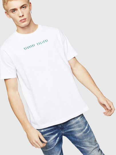 Diesel - T-JUST-A4, Blanco - Camisetas - Image 1