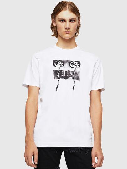 Diesel - TY-X1, Blanco - Camisetas - Image 1