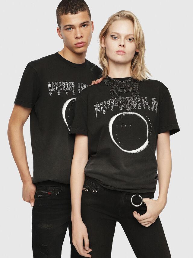 Diesel - SE-DIEGO, Negro - Camisetas - Image 6