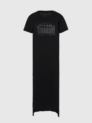 D-FELIX-LONG-E1, Negro - Vestidos