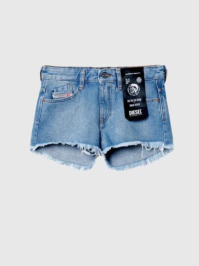 Diesel - DE-RIFTY, Azul Claro - Shorts - Image 6