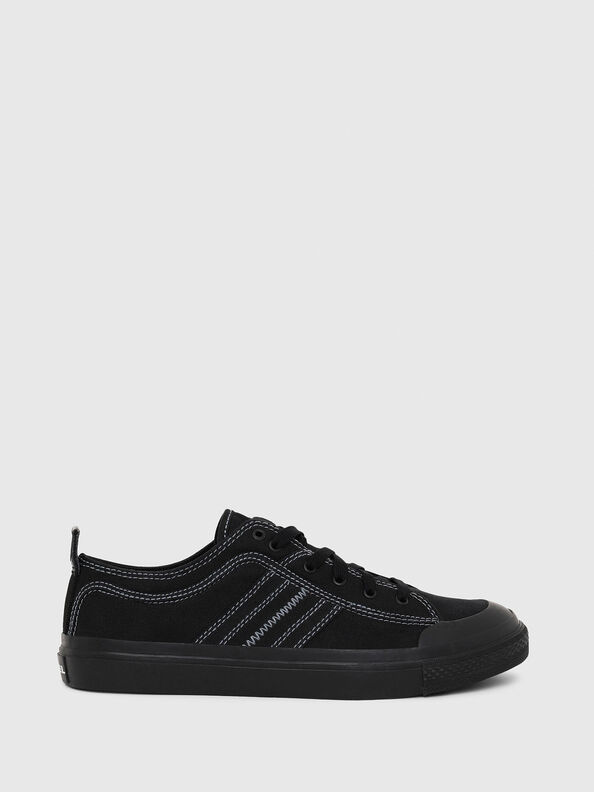 S-ASTICO LOW LACE, Negro - Sneakers