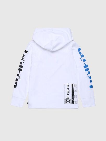 Diesel - TFONTYX, Blanco - Camisetas y Tops - Image 2