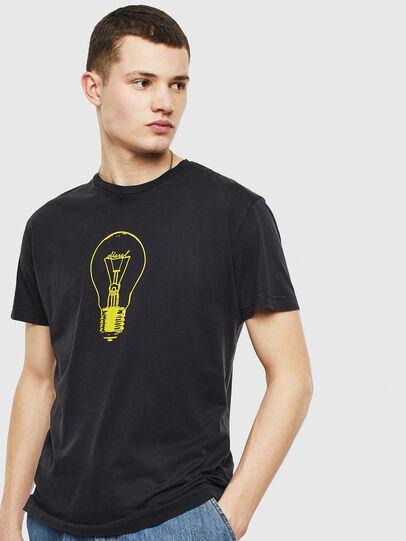 Diesel - T-DIEGO-S9, Negro - Camisetas - Image 1
