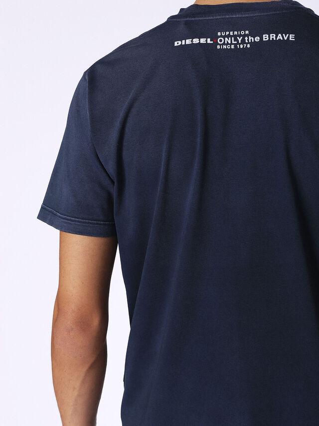 Diesel - T-KEITHS, Azul - Camisetas - Image 2