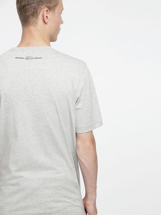 Diesel - T-JUST-XV, Gris - Camisetas - Image 2