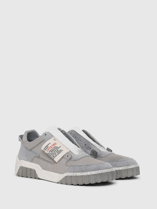 Diesel - S-LE RUA ON, Gris - Sneakers - Image 2