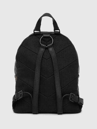 Diesel - LE-ZIPPER BACKPACK, Negro - Mochilas - Image 2
