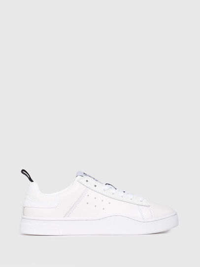 Diesel - S-CLEVER LOW W, Blanco Brillante - Sneakers - Image 1