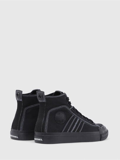 Diesel - S-ASTICO MID LACE, Negro - Sneakers - Image 3