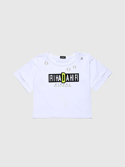 Diesel - TJACKYC, Blanco - Camisetas y Tops - Image 1