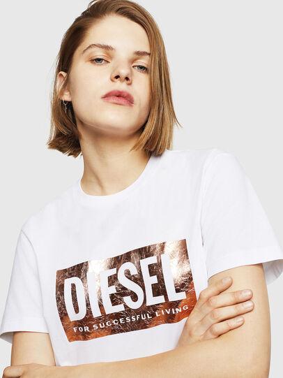 Diesel - T-FOIL, Blanco - Camisetas - Image 3