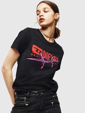 T-SILY-ZC, Negro - Camisetas