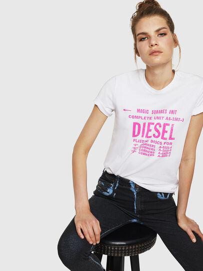 Diesel - T-SILY-ZF, Blanco - Camisetas - Image 4