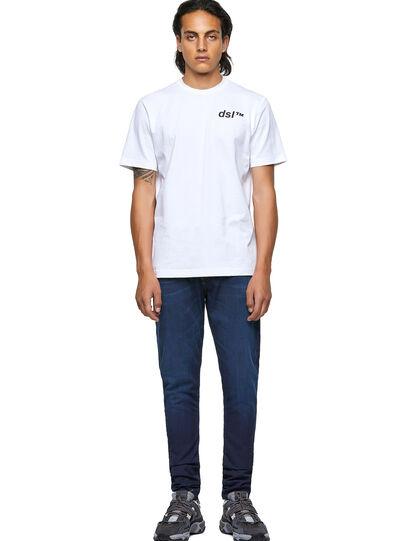 Diesel - T-JUST-B56, Blanco - Camisetas - Image 4
