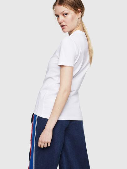 Diesel - T-SILY-ZE, Blanco - Camisetas - Image 2