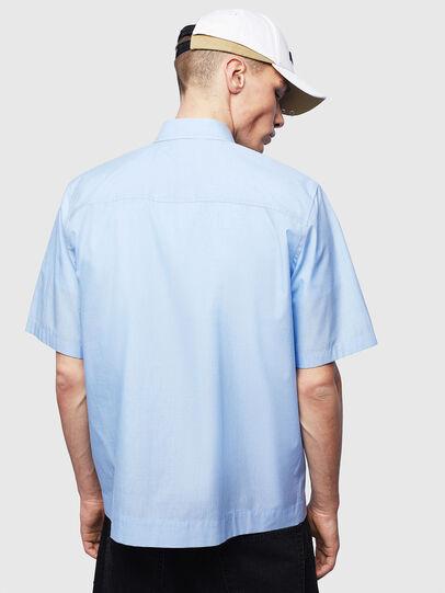 Diesel - S-FRY-FLUO, Azul Claro - Camisas - Image 2