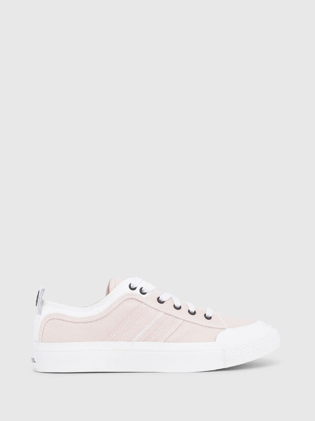 Diesel - S-ASTICO LOW LACE W, Rosa/Blanco - Sneakers - Image 1
