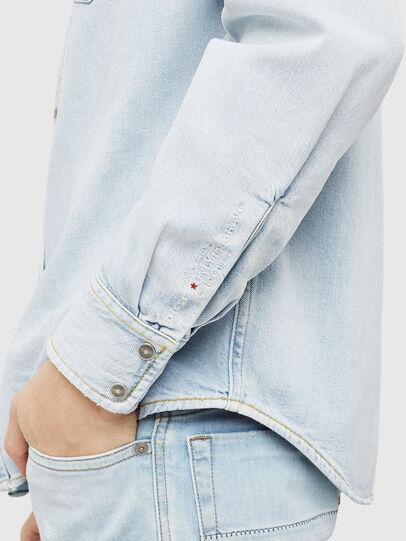 Diesel - D-EAST-P, Blue Jeans - Camisas de Denim - Image 3