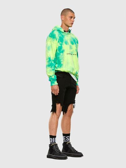Diesel - D-KRASY, Negro - Shorts - Image 6