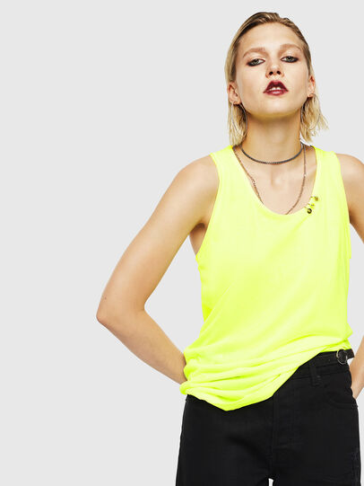Diesel - T-KELLY, Amarillo Fluo - Tops - Image 1