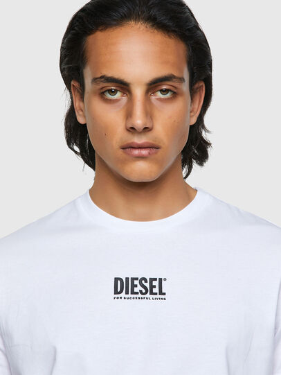 Diesel - T-DIEGOS-ECOSMALLOGO, Blanco - Camisetas - Image 3