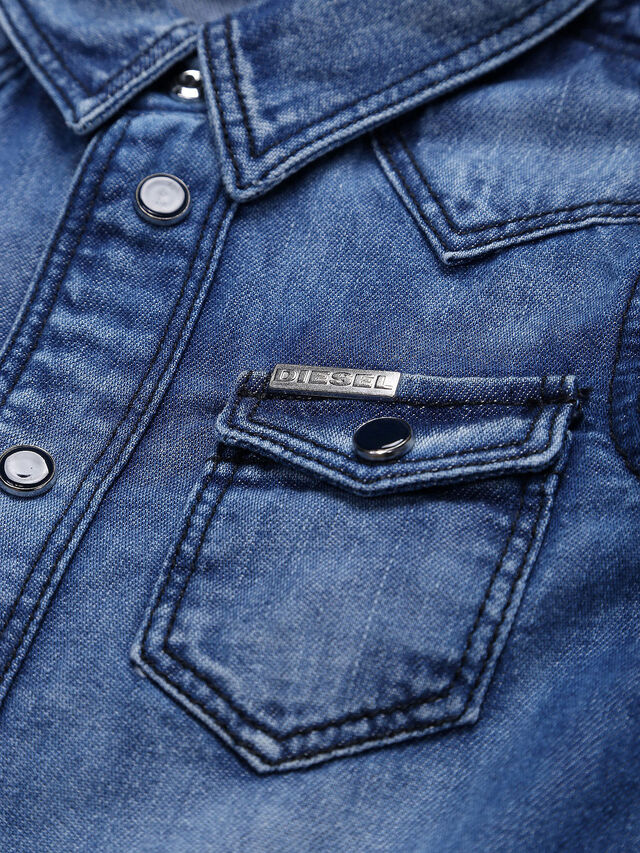 Diesel - CITROB, Blue Jeans - Camisas - Image 3