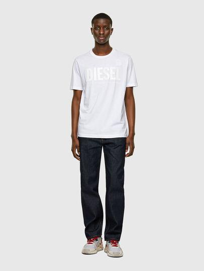 Diesel - T-JUST-INLOGO, Blanco - Camisetas - Image 4