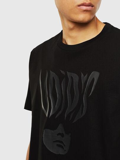 Diesel - T-JUST-J10, Negro - Camisetas - Image 3