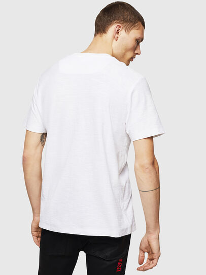 Diesel - T-RANIS, Blanco - Camisetas - Image 2