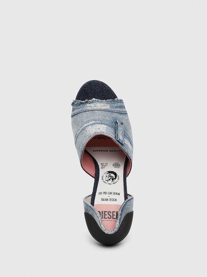 Diesel - SA-SLANTY OTD, Blue Jeans - Sandalias - Image 5