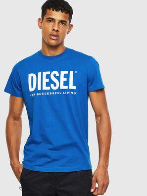 T-DIEGO-LOGO, Azul Claro - Camisetas