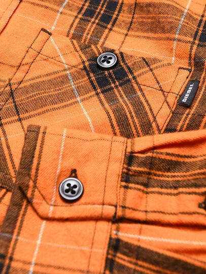 Diesel - COIZE, Naranja/Negro - Camisas - Image 3