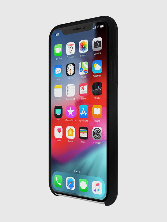 Diesel - DIESEL PRINTED CO-MOLD CASE FOR IPHONE XS & IPHONE X, Negro - Fundas - Image 3