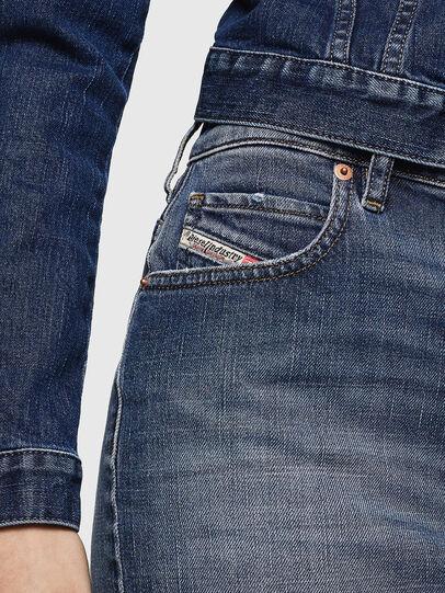 Diesel - DE-EISY, Blue Jeans - Faldas - Image 3